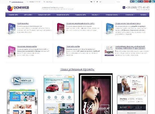 Разработка сайтов в Киеве и с гарантированным результатом