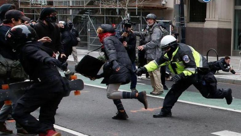 В Вашингтоне прошла массовая волна арестов титушек