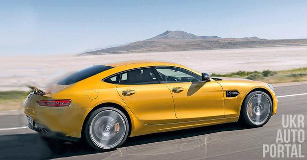 В Женеве покажут концепт 600-сильного Mercedes-AMG GT4