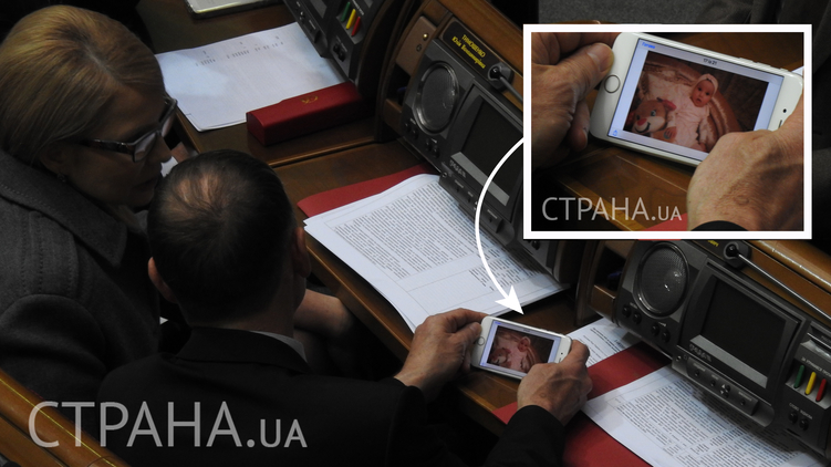 Тимошенко показала внучку: на кого похож ребенок