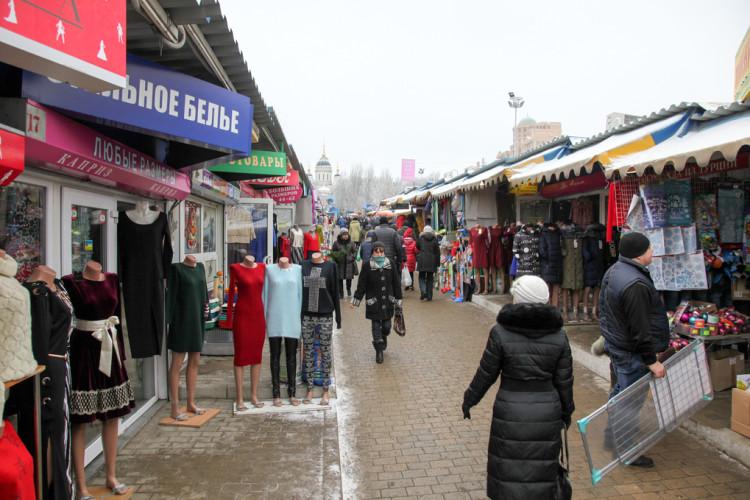Рынки Донецка. Фото Михаила Скорика для «Спектра»