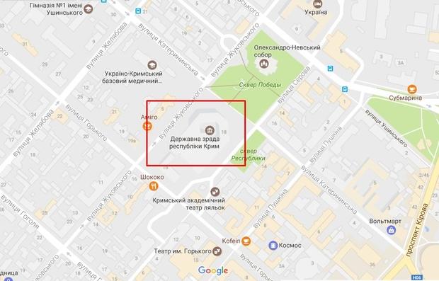 Державна зрада: в Google Maps потроллили оккупантов Крыма