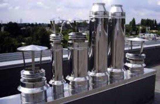 Изготовление и монтаж дымоходов из нержавеющей стали