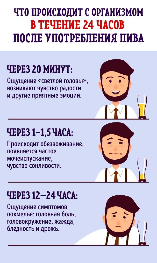 Що буде, якщо пити пиво щодня