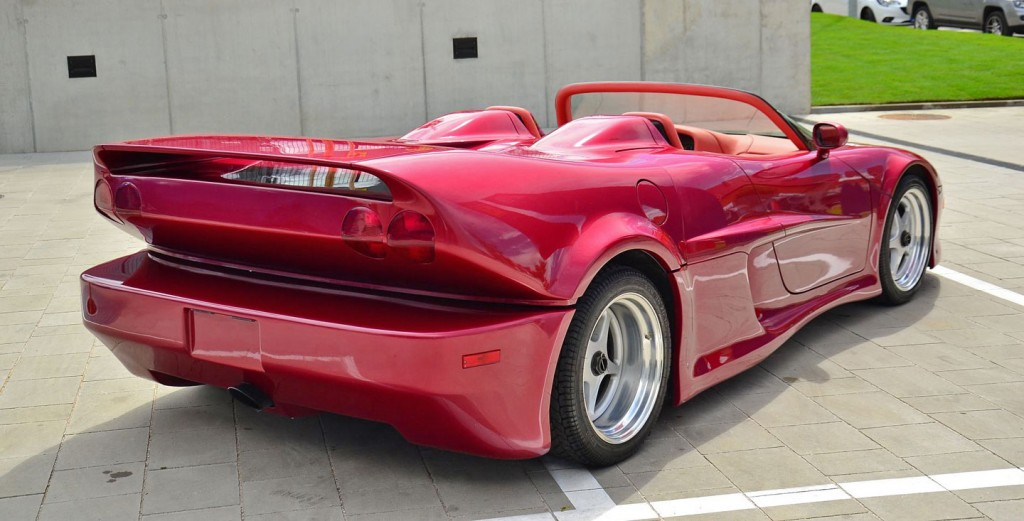 Innotech Mystero: чешский суперкар с характеристиками Bugatti Veyron