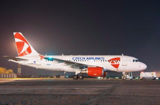 Czech Airlines с июня будут чаще летать в Одессу