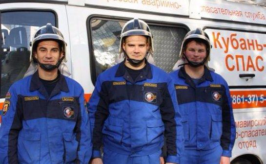 Работа крымских спасателей в апреле