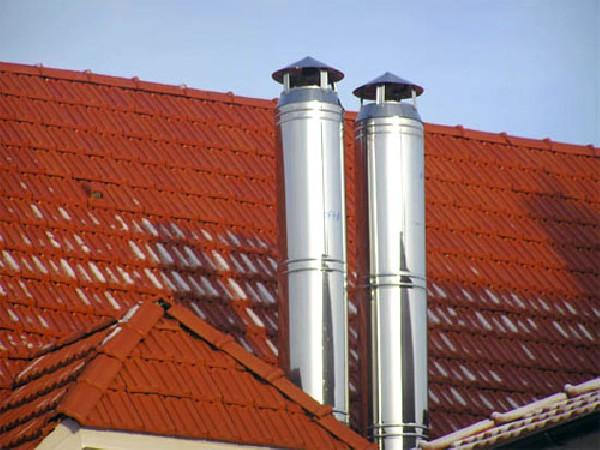 Собственное производство дымоходов из качественной стали