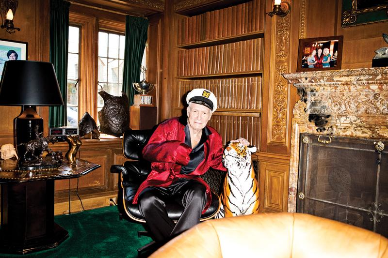 Как выглядит место смерти основателя Playboy Хью Хефнера. ФОТО