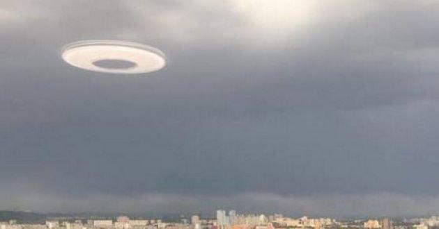 В небе над Киевом замечен НЛО