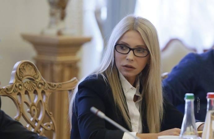 На встречу с Коксом Юлия Тимошенко распустила волосы