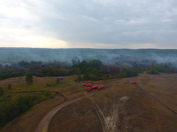 Жители Черкасской области задыхаются из-за пожаров на торфяниках: объявлен режим ЧС