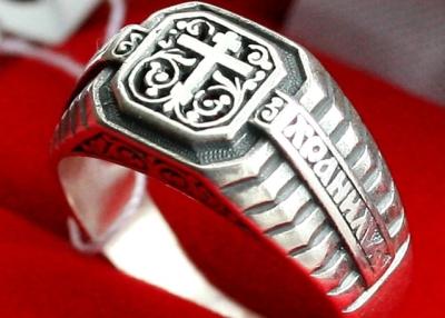 Большой выбор христианской символики из серебра