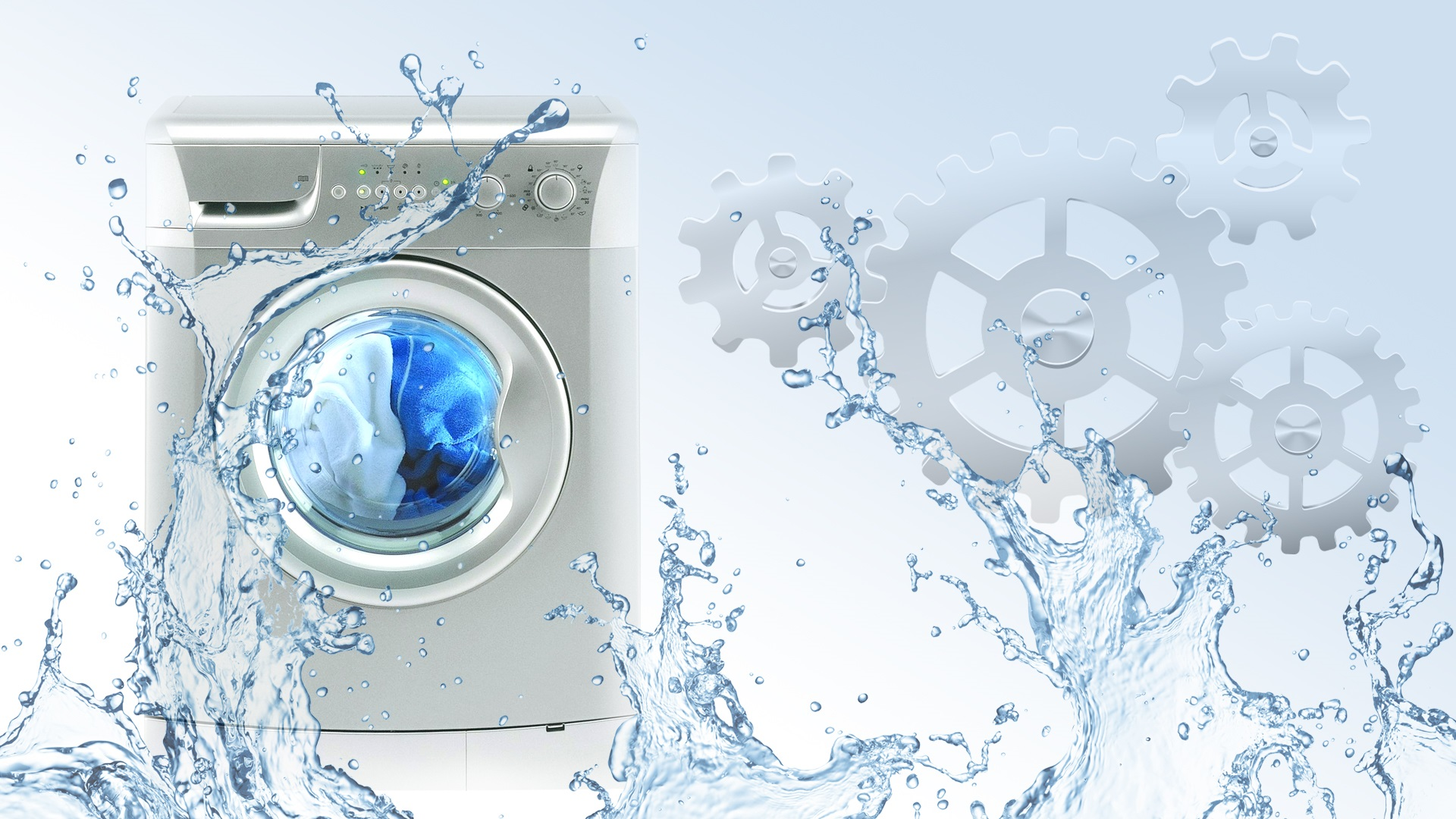 Большой ассортимент стиральных машин от мировых брендов