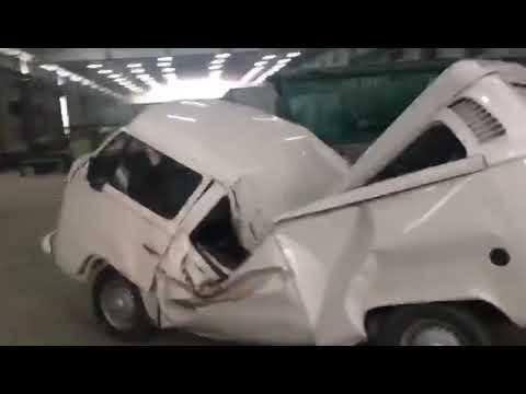 Самый неубиваемый автомобиль в мире. ВИДЕО
