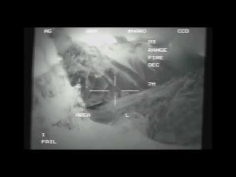 В Сети опубликовали видео столкновения американского военного дрона с НЛО