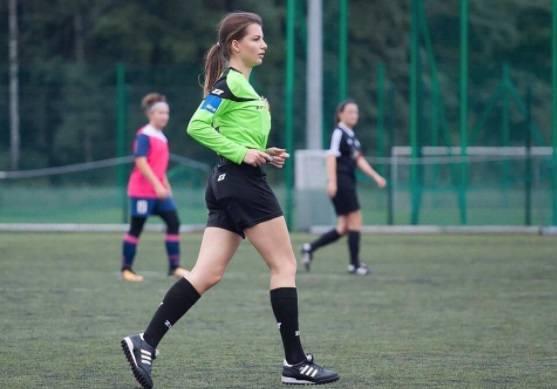 Двадцатилетняя девушка-арбитр из Польши взбудоражила сеть своими фото