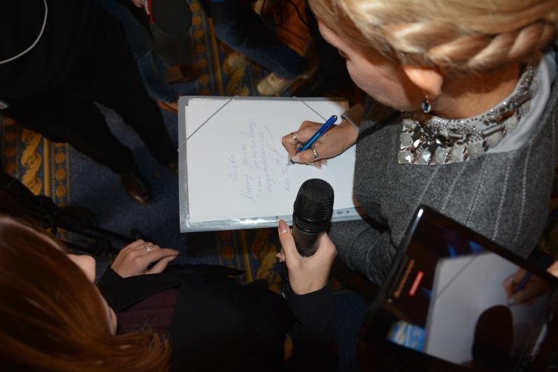 Что значит кольцо на пальце Тимошенко