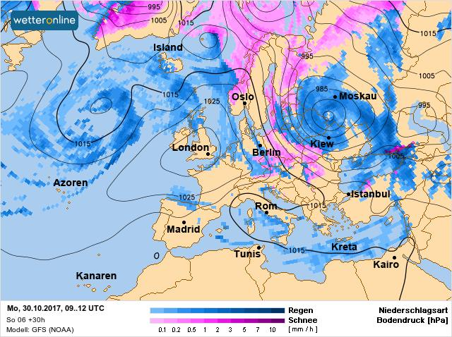 Похолодання та шторм: в Україну йдуть морози, але буде ще гірше