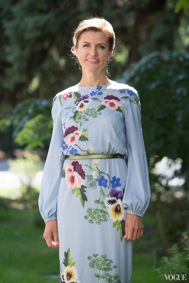 Как одевается первая леди: топ-5 нарядов Марины Порошенко