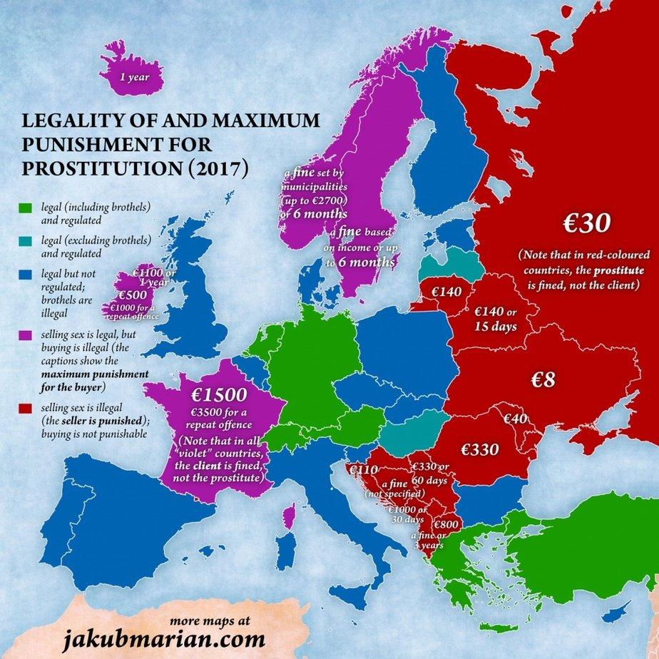 Секс-туризм: чеський картограф склав мапу європейської проституції