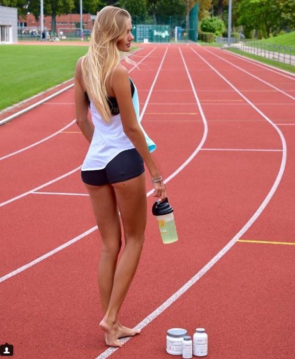18-летняя бегунья из Германии признана самой сексуальной легкоатлеткой