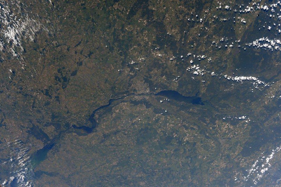 Киев: вид из космоса. Просто дух захватывает! ФОТО