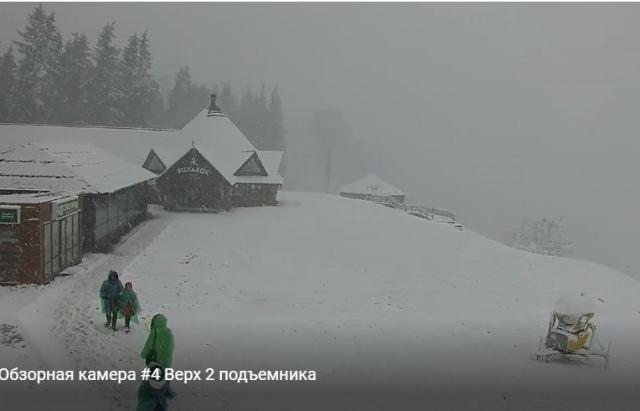 Зима прийшла: Карпати засипає снігом. ФОТО. ВІДЕО