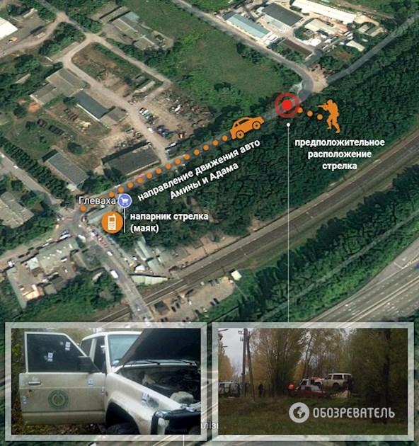 Как убили Амину Окуеву: опубликована схема места преступления