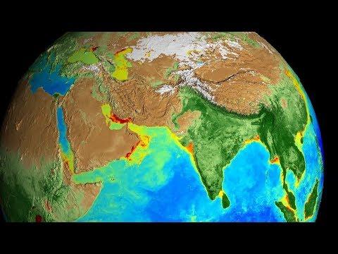 Изменения Земли за 20 лет: NASA показало на ВИДЕО, как менялась наша планета