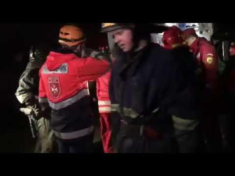 В Ивано-Франковске обрушился жилой дом, под завалами люди