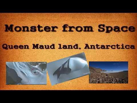 В Антарктиде обнаружили вмерзший в лед корабль пришельцев