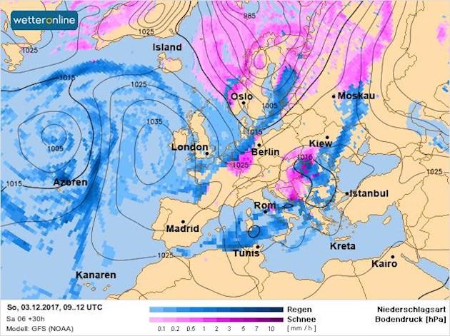 В зоне влияния балканского циклона: синоптик дала прогноз погоды