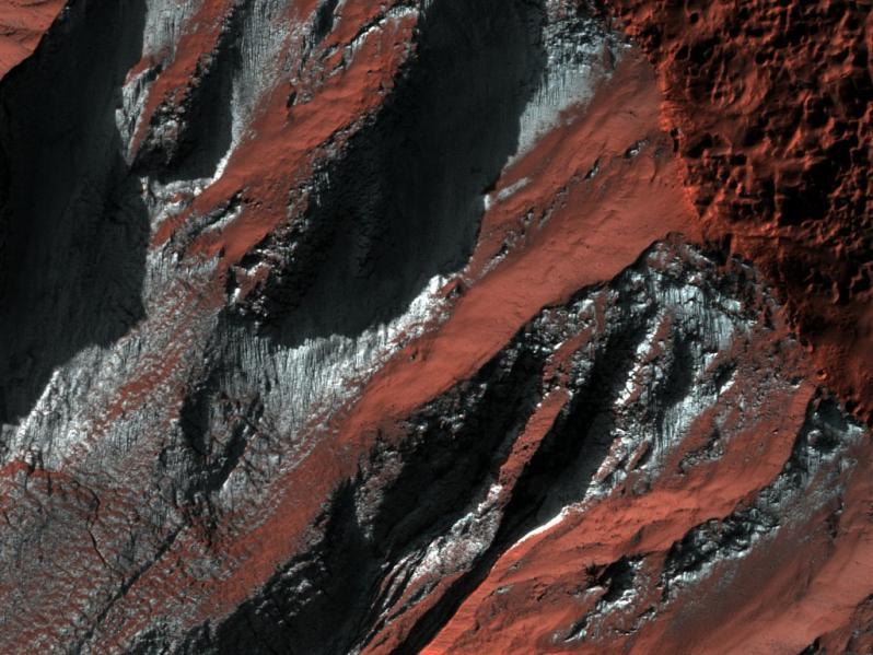 Зима на Марсе: в NASA показали, что ждет колонизаторов