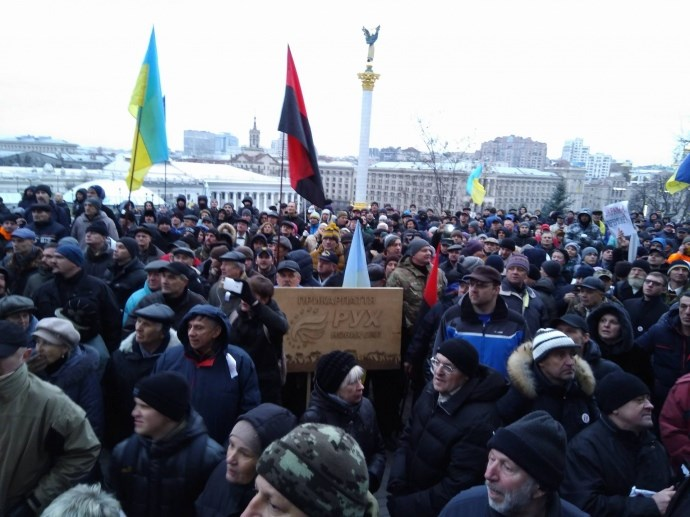 Саакашвили чуть не взял штурмом Октябрський дворец во время детского утренника. ФОТО