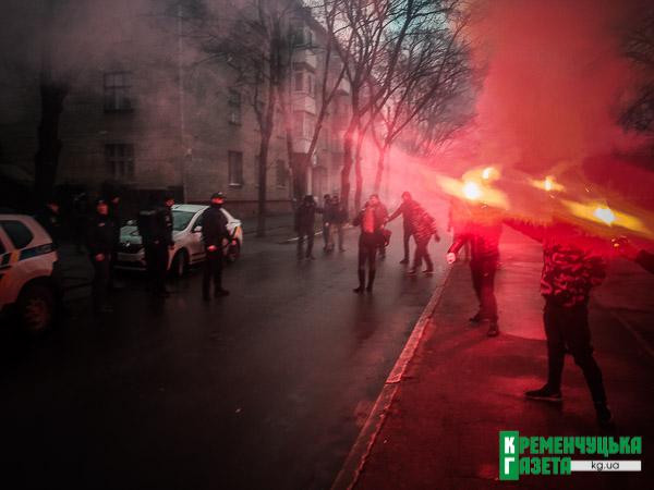 Побои и слезоточивый газ: «Нацкорпус» атаковал полицию. ФОТО, ВИДЕО