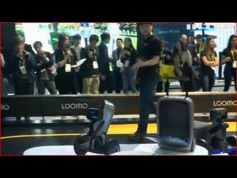В Китае придумали умный чемодан