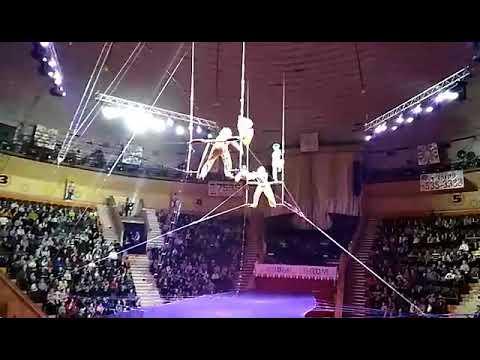 Российская гимнастка сорвалась во время выступления в цирке: ЧП попало на ВИДЕО