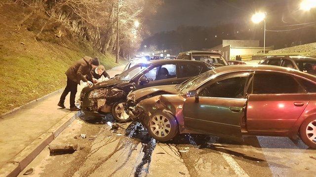 Месиво из машин: кровавая авария всколыхнула столицу. ФОТО