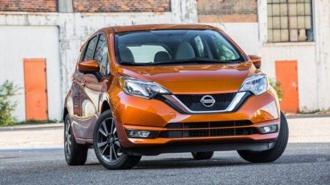 Nissan Versa Note 2017 года Фото cheatsheetcom