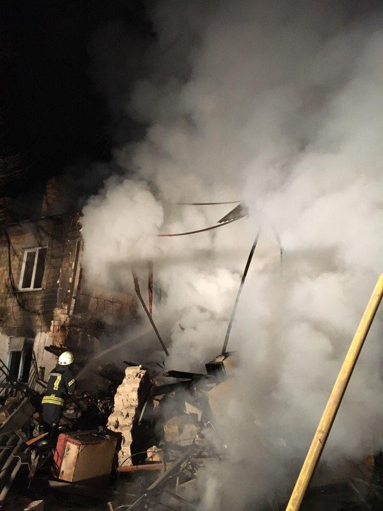 Под Киевом в жилом доме произошел взрыв газа: один человек погиб, двое травмированы