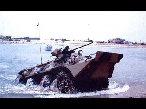 Не тонет: россияне похвастались «всплывающей» бронемашиной. ВИДЕО