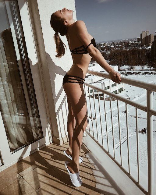Дочь Добкина отметила первый день весны интимным фото