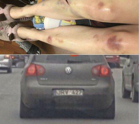 Избивают и бросают в авто: в Киеве орудует банда на «евробляхах»