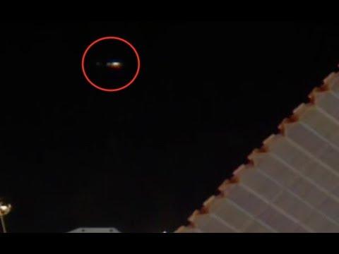 12 апреля возле МКС был зафиксирован полет НЛО. ВИДЕО