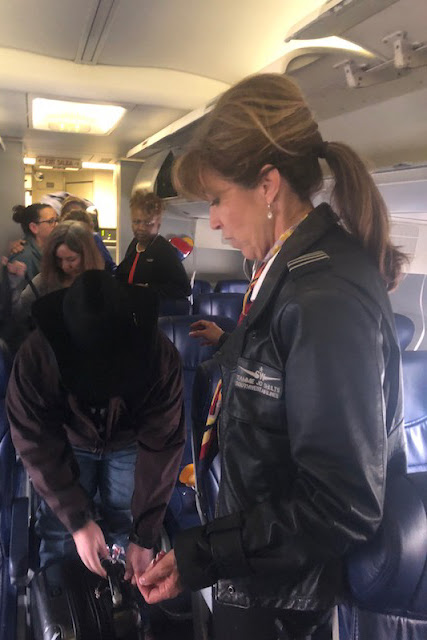 Женщина посадила авиалайнер без двигателя с высоты в 9 километров