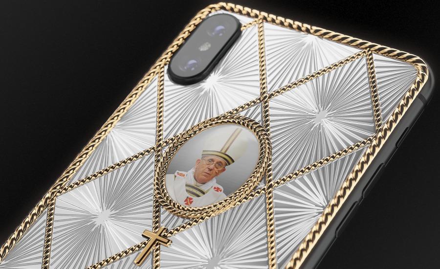 В РФ выпустили iPhone для верующих за 4 750 долларов. ФОТО