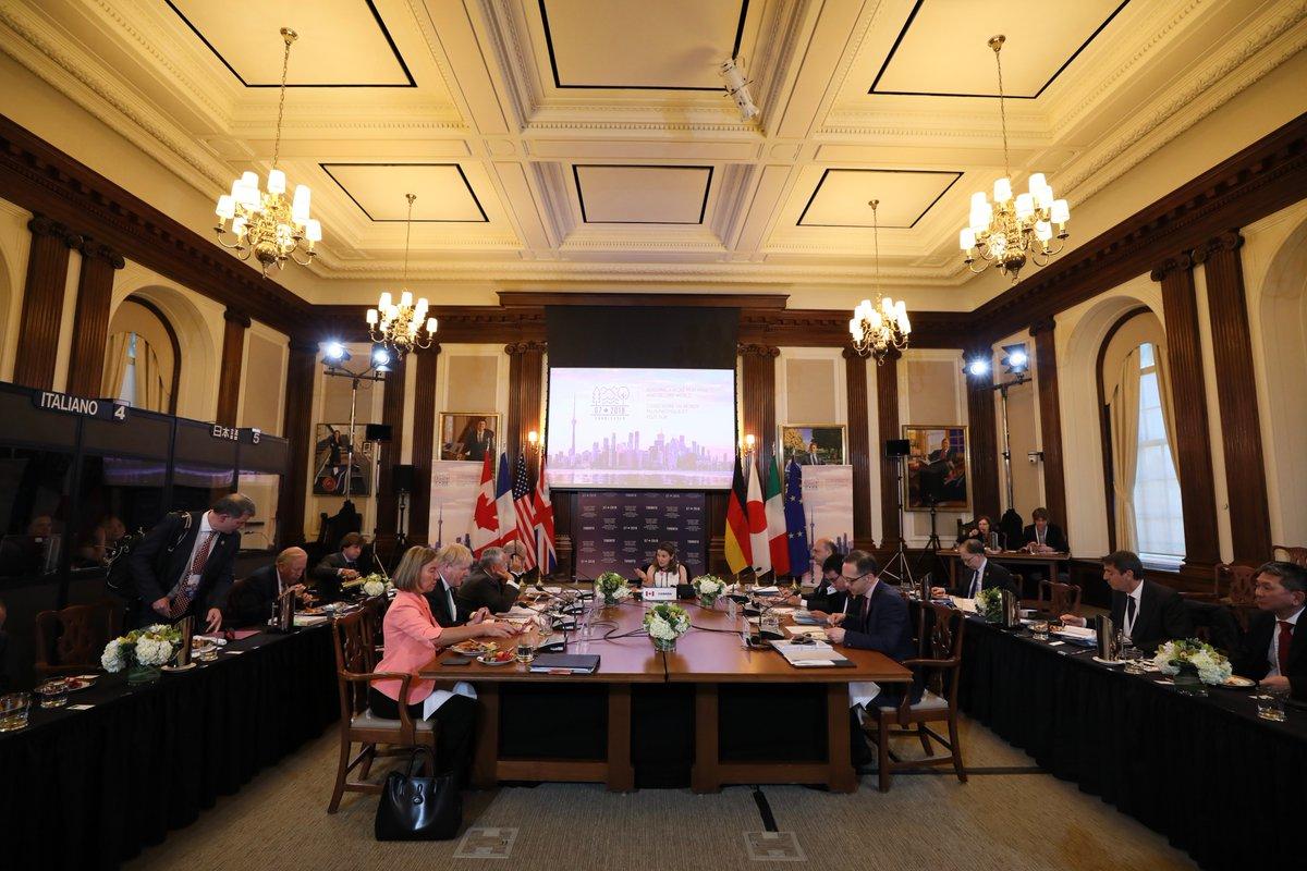 Страны G7 одобрили сохранение санкций против РФ