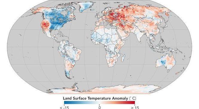 Глобальное потепление: Украину признали лидером погодных аномалий