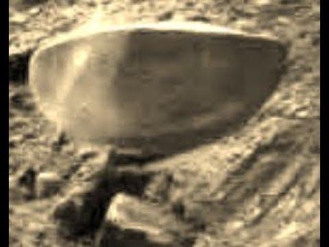 Марсиане подают знак: космический ровер заснял загадочный предмет